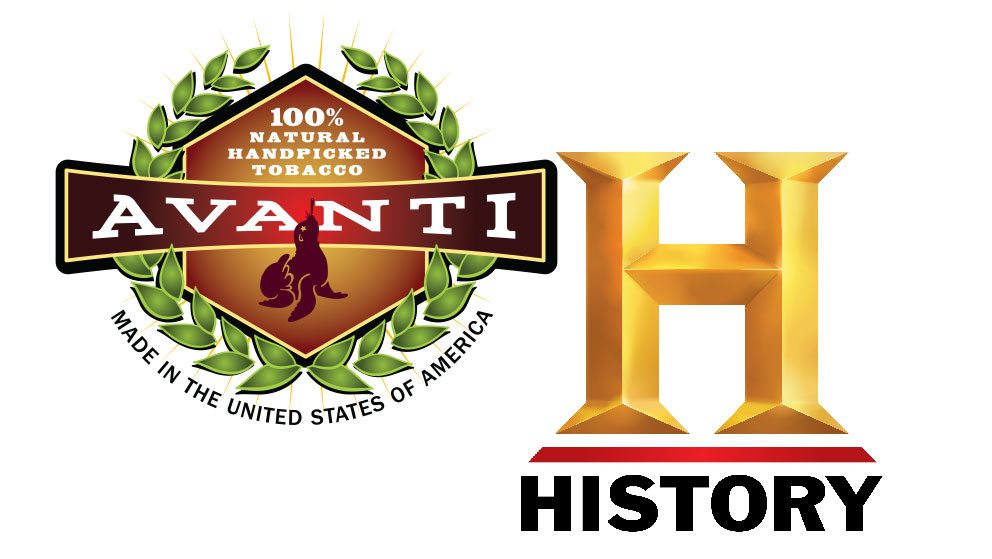 Avanti Cigar / History Channel Logos